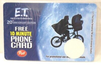 Post Cereal E.T. The Extra-Terrestrial 20th Ann. Phone Card