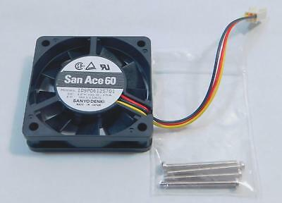 1pc new fan 109R0612G402 DC12V 0 24A SANYO 60 60 25