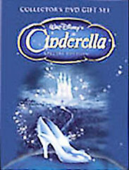 Disney Cinderella (DVD, 2005, DVD Gift Set Special Edition) FREE SHIPPING