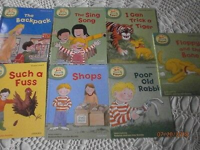 Oxford read with Biff Chip & Kipper First Stories Phonics Level 3 Paperback x 7