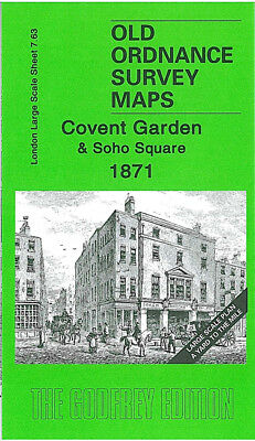 Godfrey Edition Old Ordnance Survey Maps London Large Scale Plans