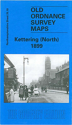Old Ordnance Survey Map Kettering North 1899 Gold Street Avondale Works
