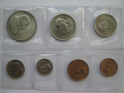 South Africa Mint 1968 sealed year set 1 Cent to silver 1 Rand
