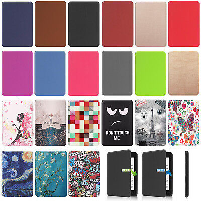 For New Amazon Kindle Paperwhite 10th GEN 2018 Magnetic Case Leather Smart Cover