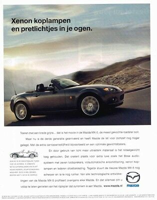 2006 Mazda MX-5 (Dutch, 1pg.) Advertisement (AAA.805)