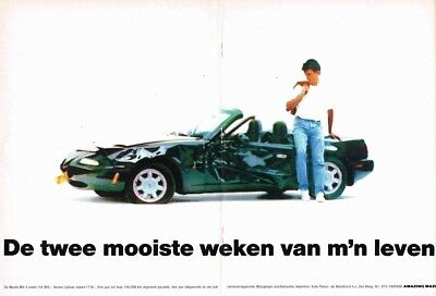 1992 Mazda MX-5 (Dutch, 2pg.) Advertisement (AAA.848)