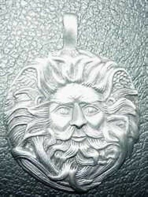 LOOK Celtic Silver Pendant Charm Belenos Sun God Jewelry