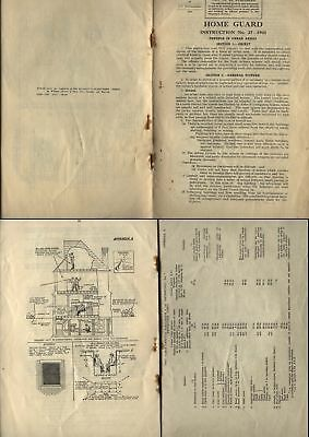 1941 HOME GUARD Instruction 12 page Pamphlet No27-DEFENCE IN URBAN AREAS