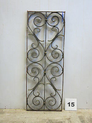 Antique Egyptian Architectural Wrought Iron Panel Grate (E-15)