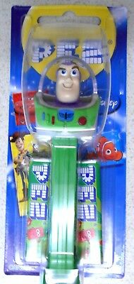 Buzz Lightyear Pez - New & Sealed: Dispenser + 2 Pez Packets   Oz Seller!