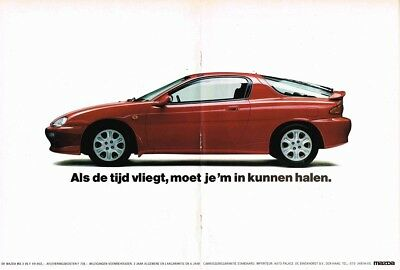 1991 Mazda MX-3 V6 (Dutch, 2pg.) Advertisement (AAB.293)