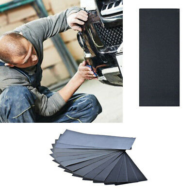 36PCS Wet Dry Sandpaper 400-3000 Grit Assortment Abrasive Paper Sheet Sanding