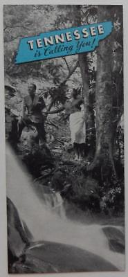 Vintage Brochure Tennessee Vacation Hunting Fishing Trails Hiking