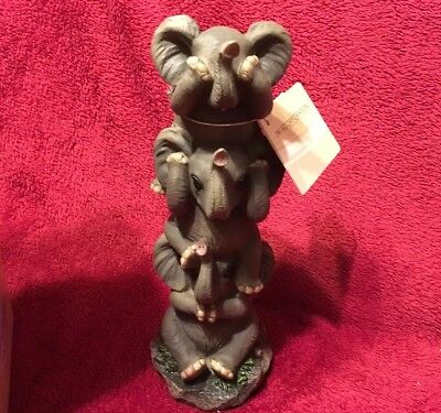 Everspring See Say Hear No Evil Monkey set3 Collectible Figurine Statue EIPDK-34