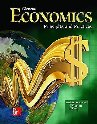 Glencoe Economics: Principles and Practices Student Edition Textbook VGC