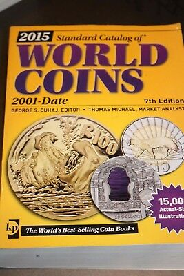 2015 Standard Catalog Of World Coins 2001-Date, by  George S Cuhaj - 9th Edition