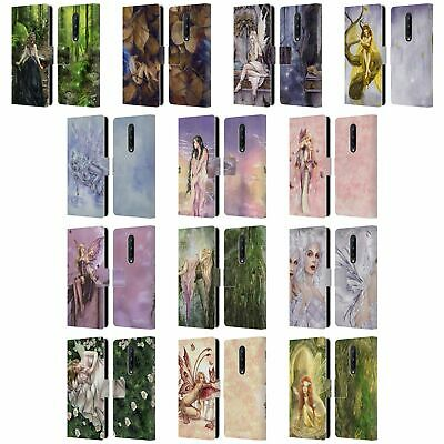 Official Selina Fenech Fairies Leather Book Wallet Case For Blackberry Oneplus