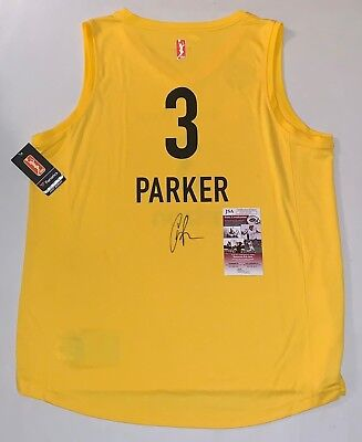 16aab4f2c6b Candace Parker signed LA Los Angeles Sparks jersey autographed Exact Proof  JSA