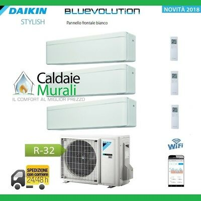Klimaanlage Daikin Bluevolution Probe Stylish White 7+9+12 mit 3MXM52N R-32