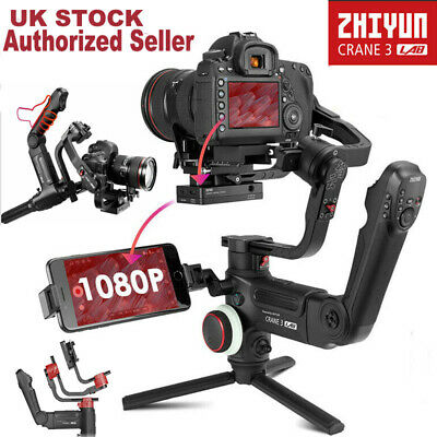 Zhiyun Crane 3 LAB Standard Kit 3-Axis Handheld Gimbal Stabilizer Fr DSLR Camera