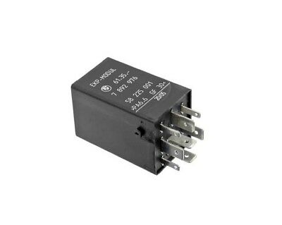 Fuel Pump Relay (8-Prong) (Black) Genuine For BMW 61357892976