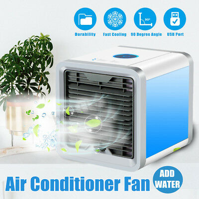 Mini USB Portable Air Conditioner Purifier Bedroom Cooler Cooling Fan Humidifier