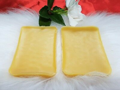 200 grams Organic Australian Beeswax Unbleached Candles/Soap/Balm/polish/Wraps