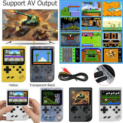 Retro Mini 3 inches Handheld Video Game Console Built-in 168 Classic Games Gift