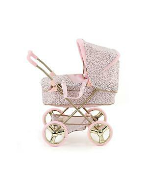 Princess Pram & Carry Cot Play Set Junior Kids Baby Doll Toy Buggy