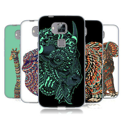 Official Bioworkz Coloured Wildlife 1 Gel Case For Huawei Phones 2