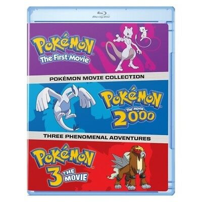 Warner Home Video Br726641 Pokemon Movies 1-3 Collection (Blu-Ray/first Movie...