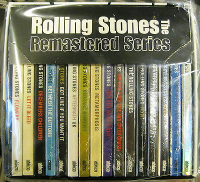 "THE ROLLING STONES ""REMASTERED SERIES"" box 16 cd SACD + insert limited edition"