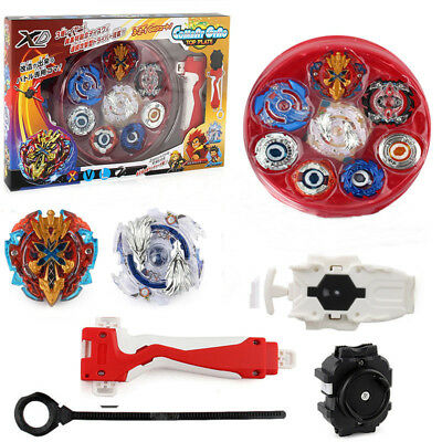Beyblade Spinning Top Launcher Set Kids Toys Set Arena Stadium Spinning Gifts