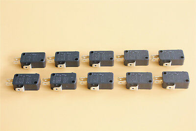 10x Universal Microwave Door Oven Freezer Micro Limit Switch KW8 AC 125V 250V