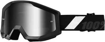 100Percent Strata Adult Goggles, Goliath With Mirror Silver Lens, One Size