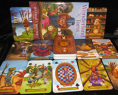 Brand New & Sealed! Tarot In Wonderland Tarot Cards & Book Oracle Divination