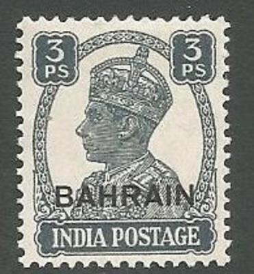 Bahrain Scott# 38, King George VI, 3p, Unused, FG, LH, 1942
