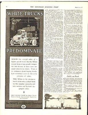 1916 Old White Truck ad