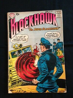 Lot Of 3 Silver Age Blackhawk Comics, #125, 126, & 127, 1958