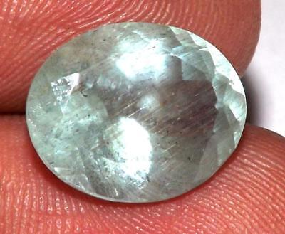 6.50 ct Natural Earth Mined Goshenite Aquamarine Bery 13 x 11 mm Gem #bgo642
