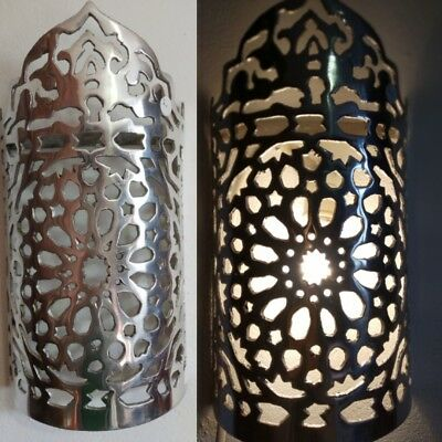Large Moroccan wall lamp