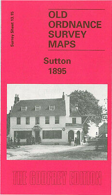 Godfrey Edition Old Ordnance Survey Maps Surrey
