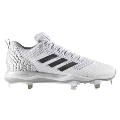 b55077afe079 Adidas Power Alley 5 Men's Baseball Cleats B39190 - White, Gray (NEW) Lists