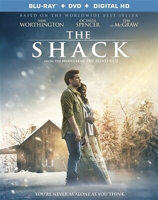THE SHACK New Sealed Blu-ray + DVD