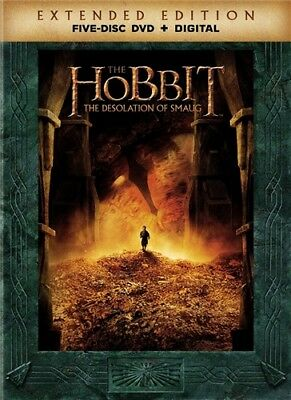 THE HOBBIT THE DESOLATION OF SMAUG New Sealed 5 Disc DVD Extended Edition