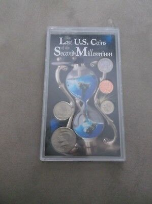 Us Coins Of The Second Millennium - Penny Nickel Dime Quarter & Half Dollar
