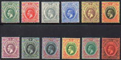 Southern Nigeria 1912. The complete set of 12 stamps of George V, MLH