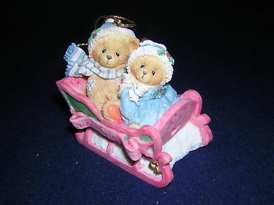 CHERISHED TEDDIES OUR FIRST CHRISTMAS Ornament Dated 1994 NEW & Never Displayed