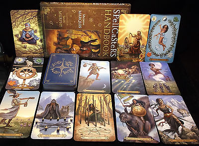 Sealed Brand New! Spellcasters Tarot Card & Book Oracle Divination Magnetic Box