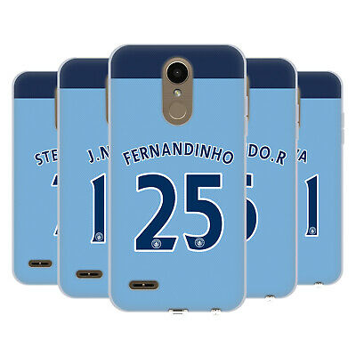 Manchester City Man City Fc Player Home Kit 2016/17 2 Gel Case For Lg Phones 1